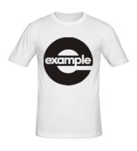Мужская футболка Example Round