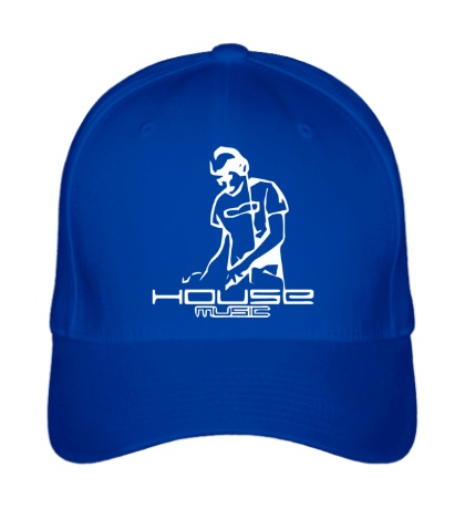 Бейсболка House Music DJ