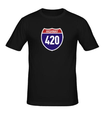 Мужская футболка Highway
