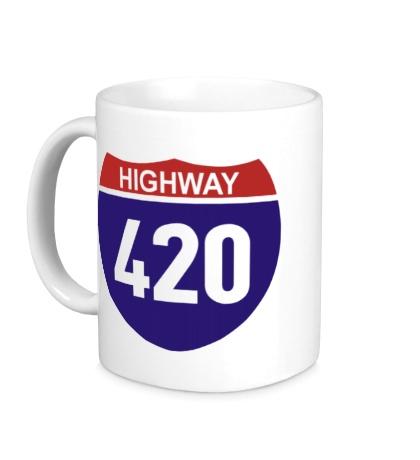 Керамическая кружка Highway