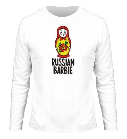 Мужской лонгслив «Russian Barbie»