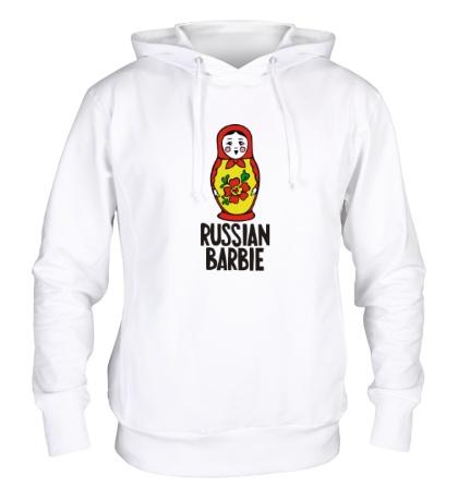 Толстовка с капюшоном Russian Barbie