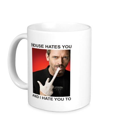 Керамическая кружка House Hates You