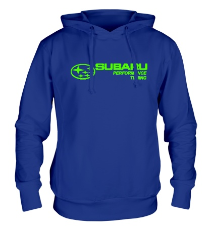 Толстовка с капюшоном Subaru Perfomance Tuning Glow