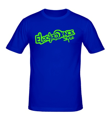 Мужская футболка Electrodance Style Glow