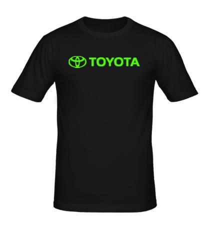 Мужская футболка Toyota Line Glow