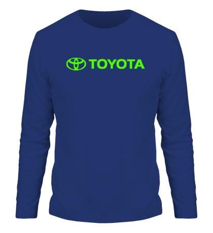 Мужской лонгслив Toyota Line Glow