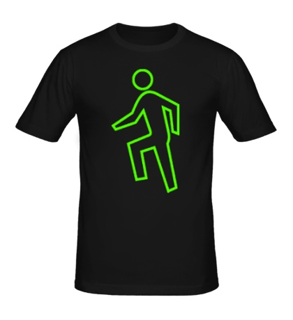 Мужская футболка LMFAO Man Glow