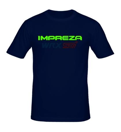 Мужская футболка Subaru Impreza WRX STI