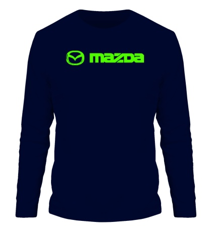 Мужской лонгслив Mazda Line Glow