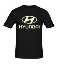 Мужская футболка Hyundai Glow