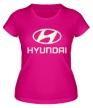 Женская футболка «Hyundai Glow» - Фото 1