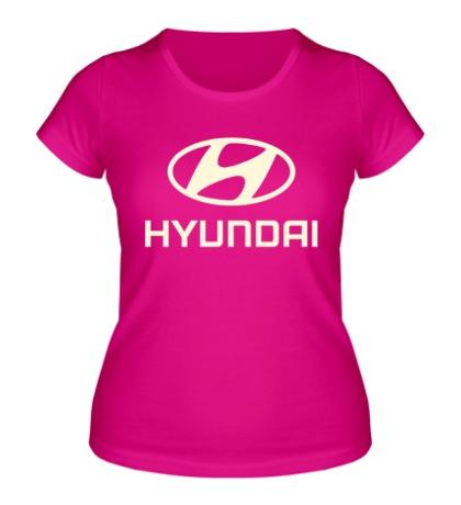 Женская футболка Hyundai Glow