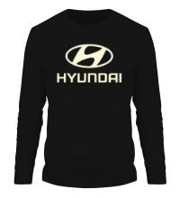 Мужской лонгслив Hyundai Glow