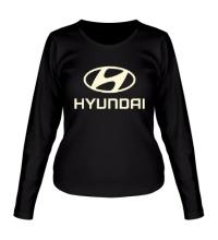 Женский лонгслив Hyundai Glow