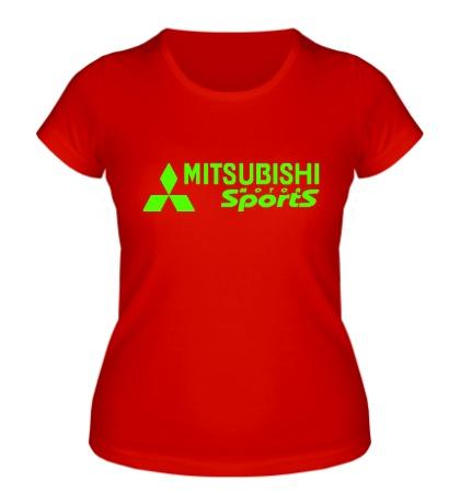 Женская футболка Mitsubishi Sports Glow