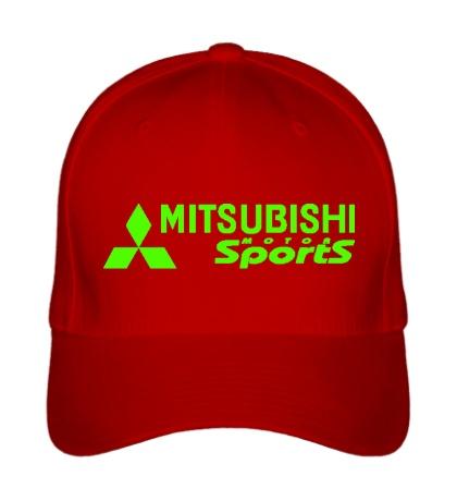 Бейсболка Mitsubishi Sports Glow