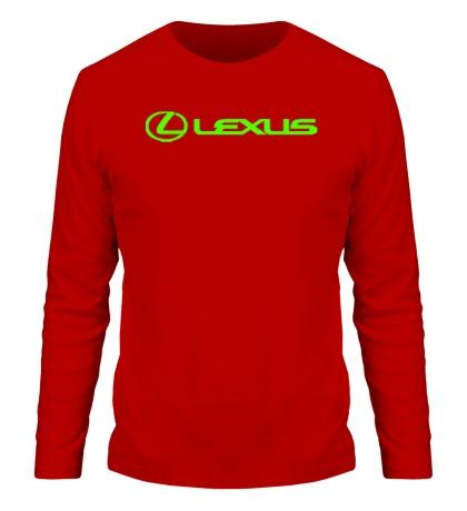 Мужской лонгслив Lexus Line Glow