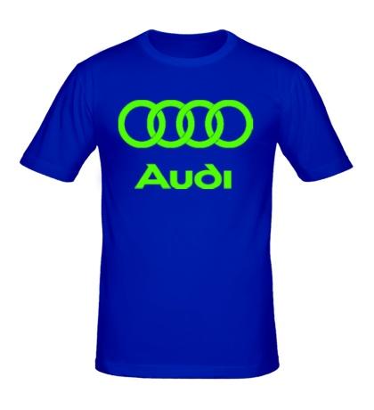 Мужская футболка Audi Glow
