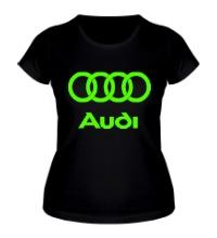 Женская футболка Audi Glow