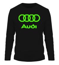 Мужской лонгслив Audi Glow