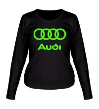 Женский лонгслив Audi Glow