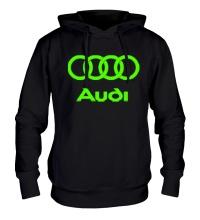 Толстовка с капюшоном Audi Glow