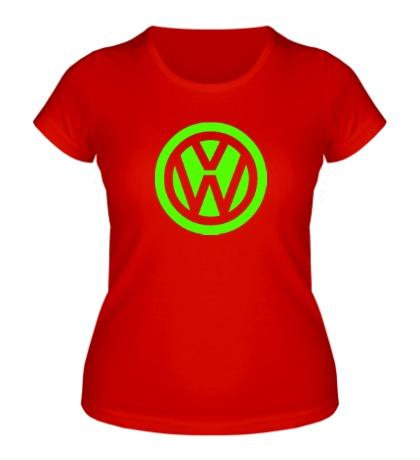 Женская футболка Volkswagen Mark Glow