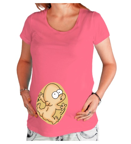 Футболка для беременной Малышу тесно