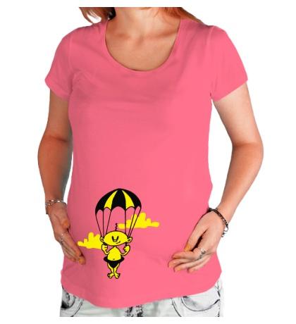 Футболка для беременной Малыш на подходе