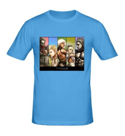 Мужская футболка Linage 2: Poster