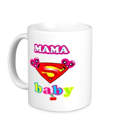 Керамическая кружка Superbaby