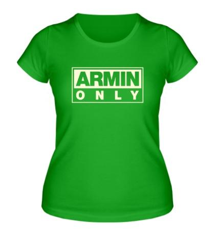 Женская футболка Armin Only Glow