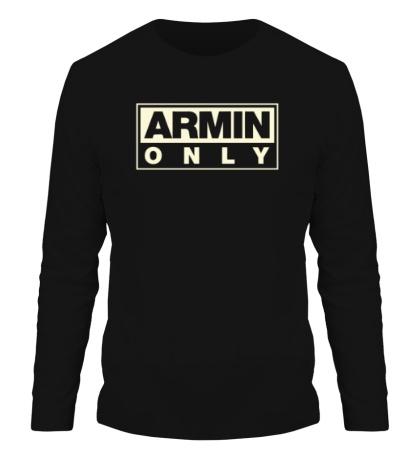 Мужской лонгслив Armin Only Glow