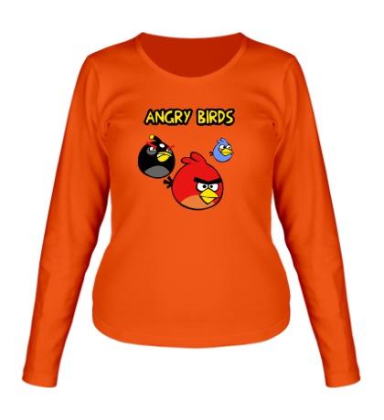 Женский лонгслив Angry Birds Wars