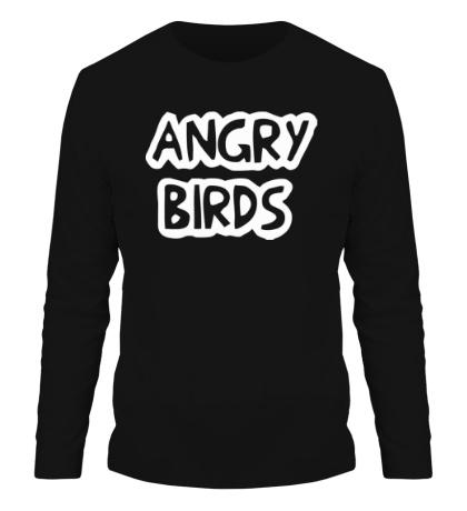 Мужской лонгслив Angry Birds Sign