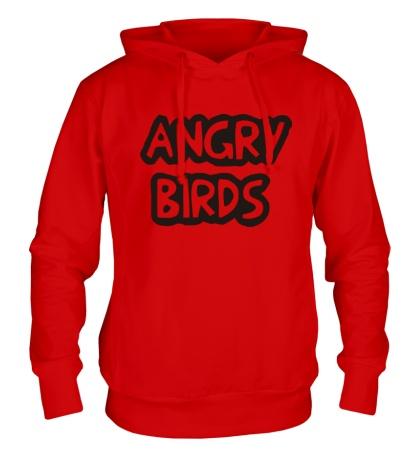 Толстовка с капюшоном Angry Birds Sign