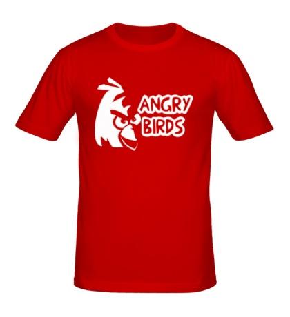 Мужская футболка Angry Birds Logo