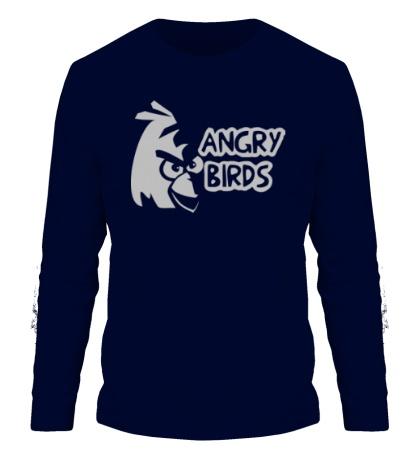 Мужской лонгслив Angry Birds Logo