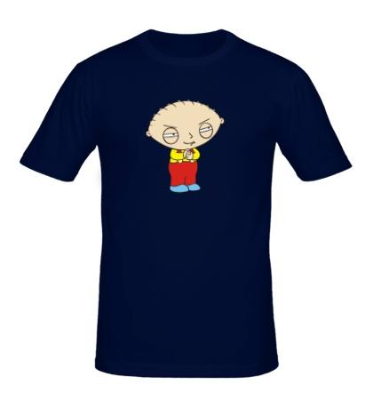 Мужская футболка Хитрый Стьюи Гриффин