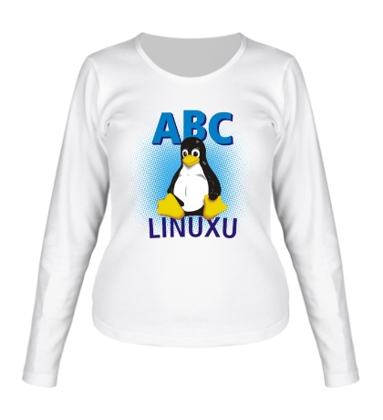 Женский лонгслив ABC Linuxu