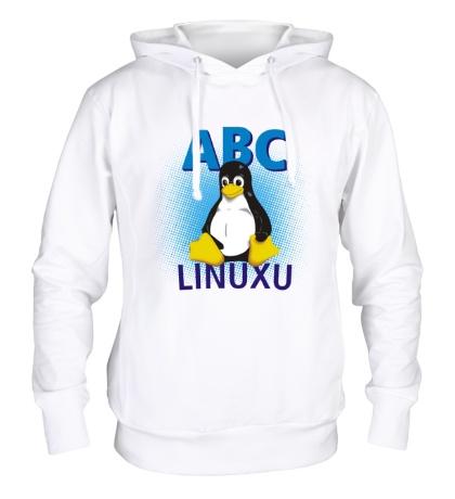 Толстовка с капюшоном ABC Linuxu