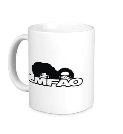 Керамическая кружка LMFAO