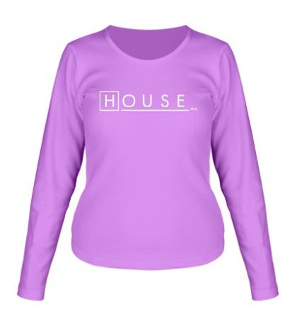 Женский лонгслив House md