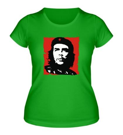 Женская футболка Че Гевара революционер