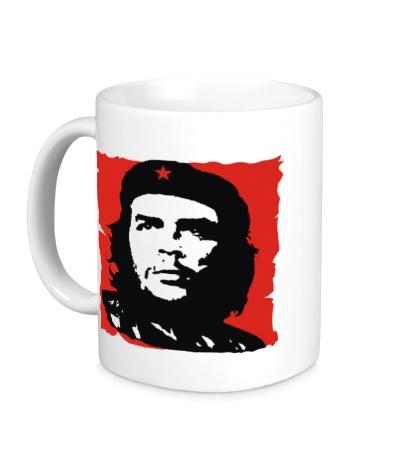 Керамическая кружка Че Гевара революционер