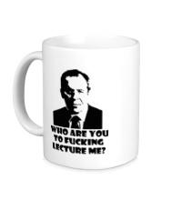 Керамическая кружка Lavrov: who are you?