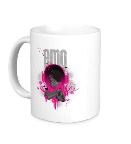 Керамическая кружка Emo