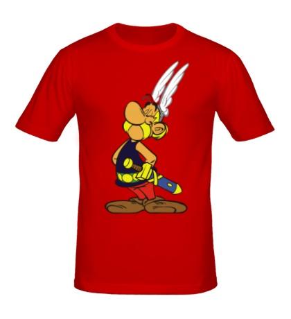 Мужская футболка Гордый Астерикс