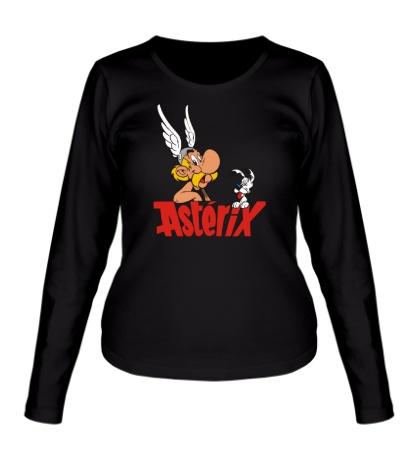 Женский лонгслив Asterix
